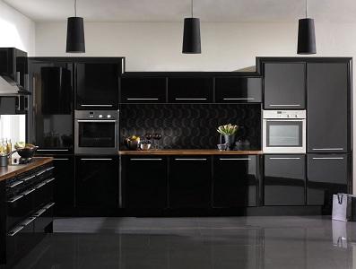 Черная кухня: 4 оптимальных стиля, 12 сочетаний с другим цветом, частые ошибки при дизайне, фото в интерьере