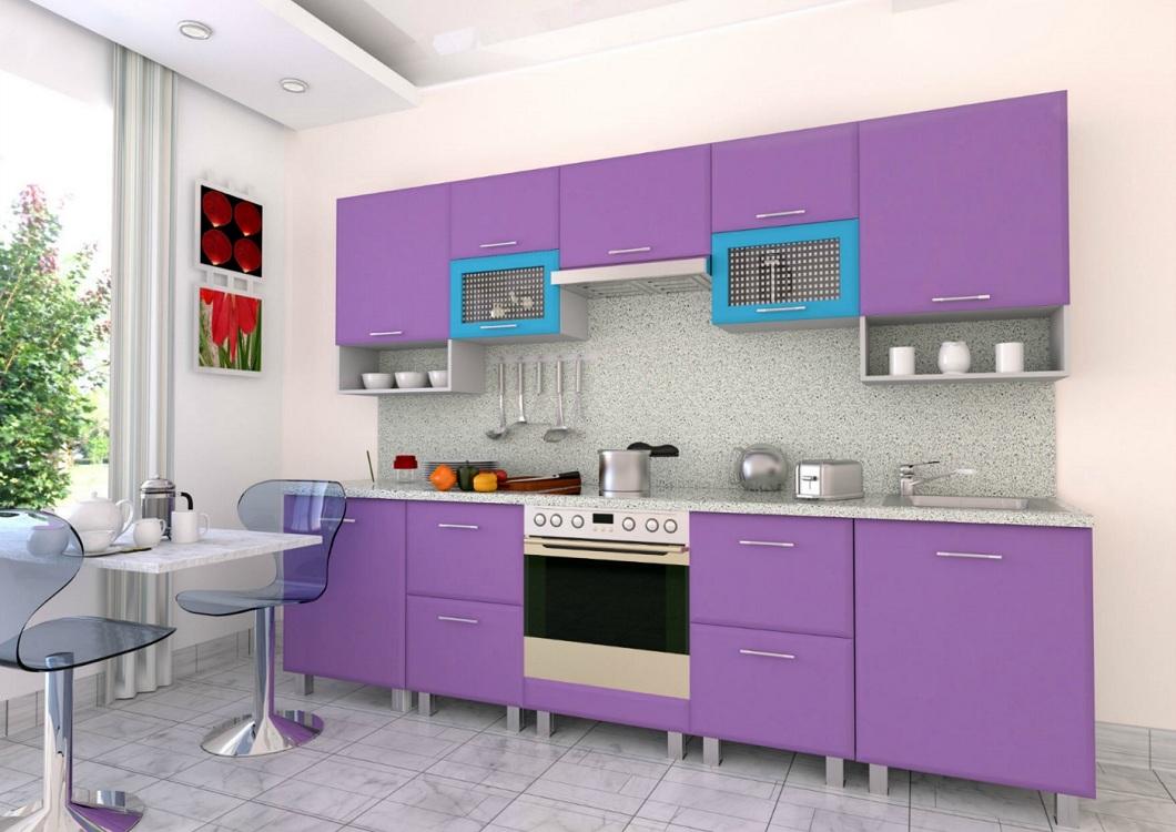 Фиолетовые кухни3