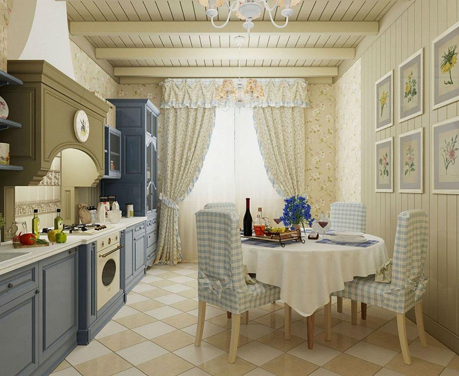 Гарнитур для кухни в стиле прованс