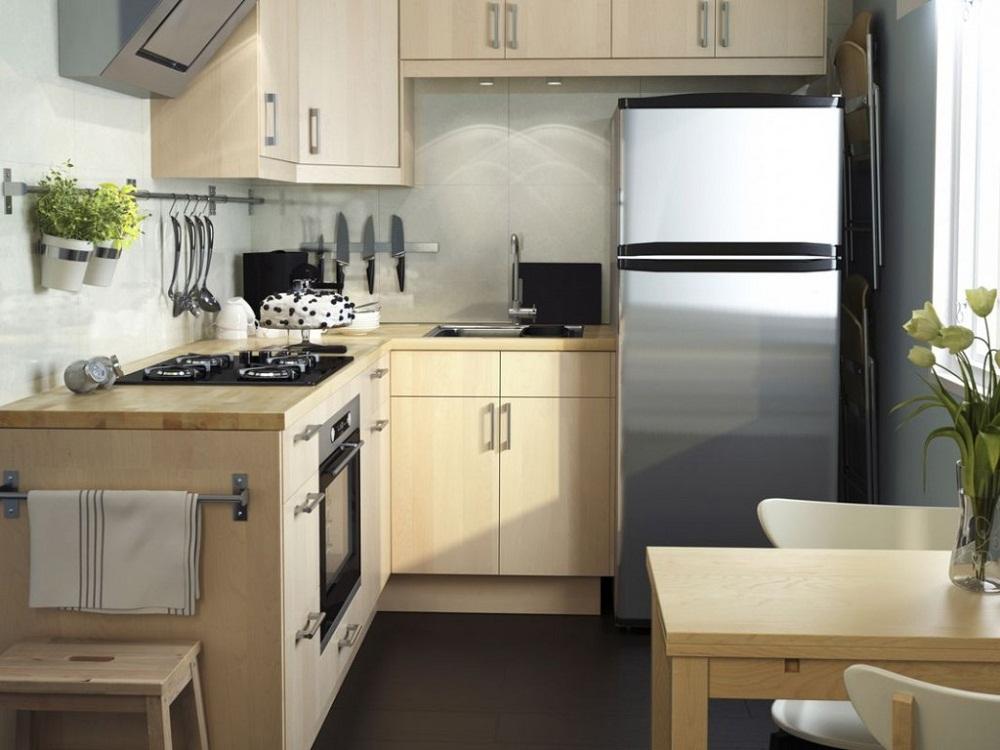 Холодильник для маленькой угловой кухни