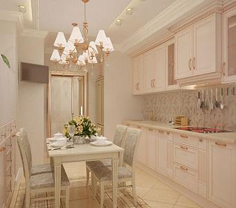 Дизайн кухни в бежевых тонах, в каких стилях применяют такой цвет, отзывы покупателей