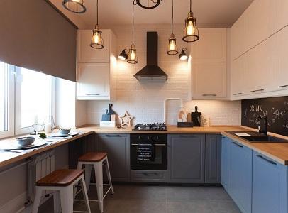 Как обустроить маленькую кухню в сталинке
