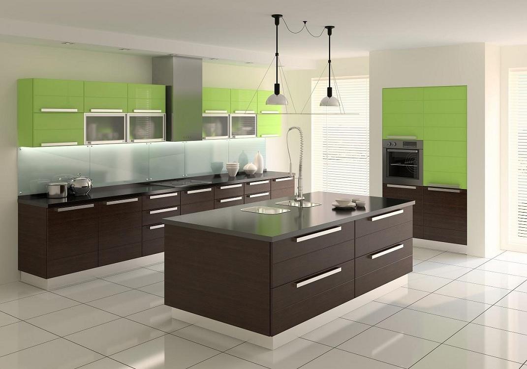 Кухонный гарнитур для кухни в стиле минимализм