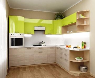 Угловой гарнитур для маленькой кухни: советы, фото в интерьере