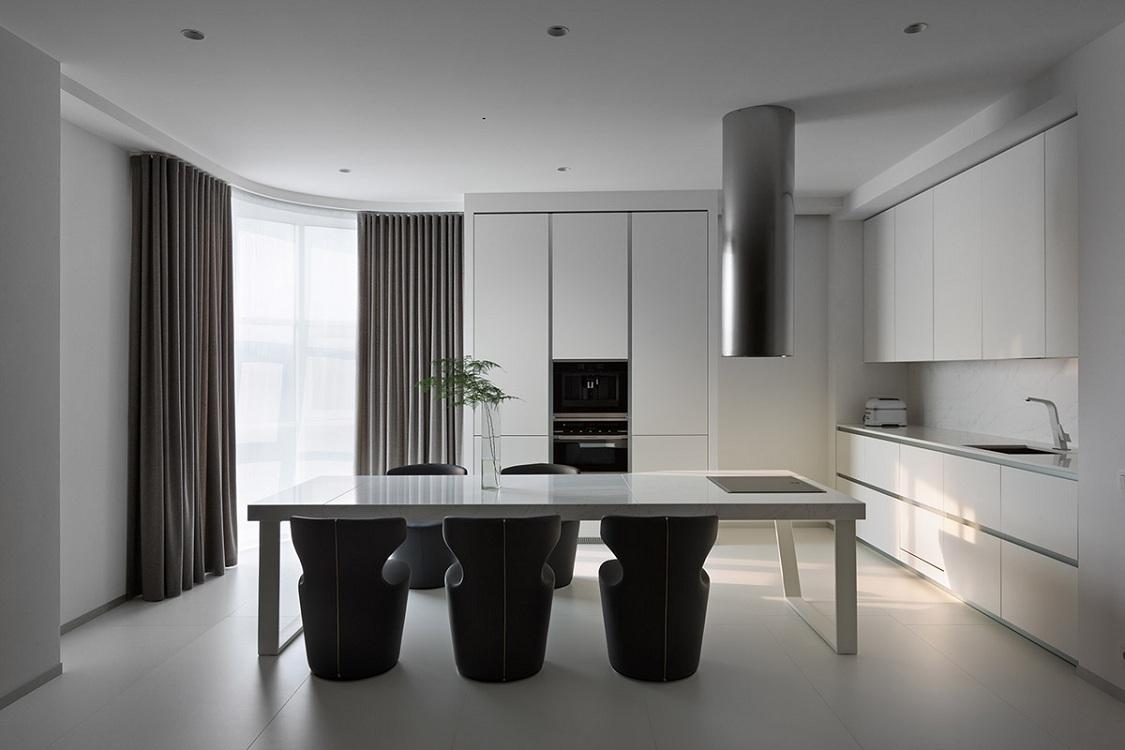 Мебель для кухни в минималистичном стиле