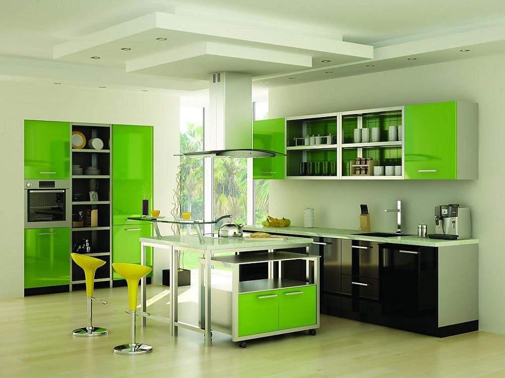 Плюсы зеленого цвета в интерьере