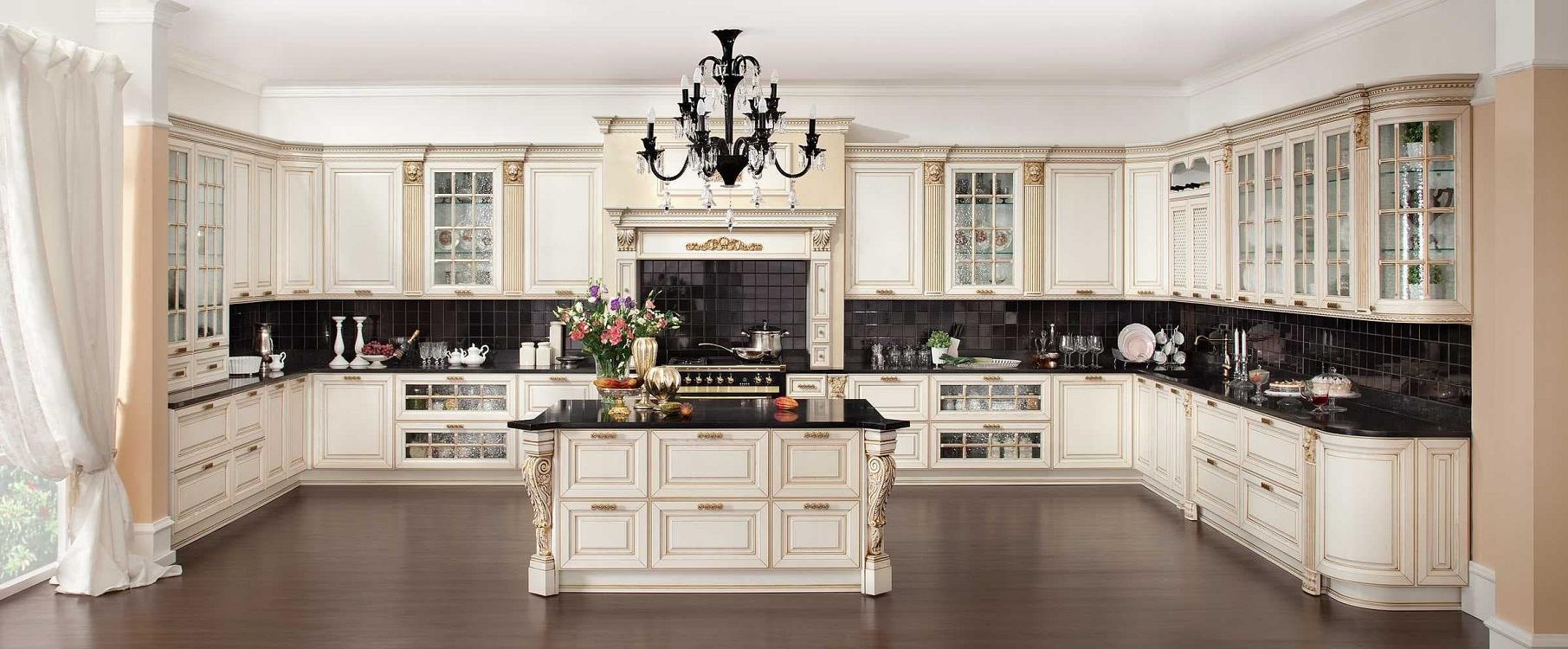 Подходящие стили для кухни оттенка айвори