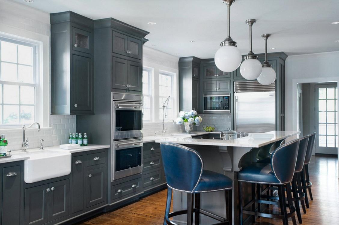 Преимущества и недостатки серых кухонь