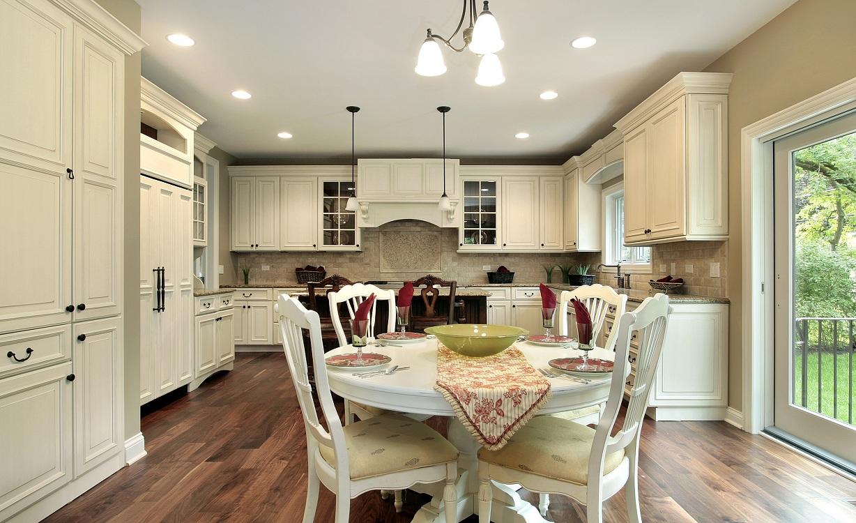 Применение естественного освещения на кухне