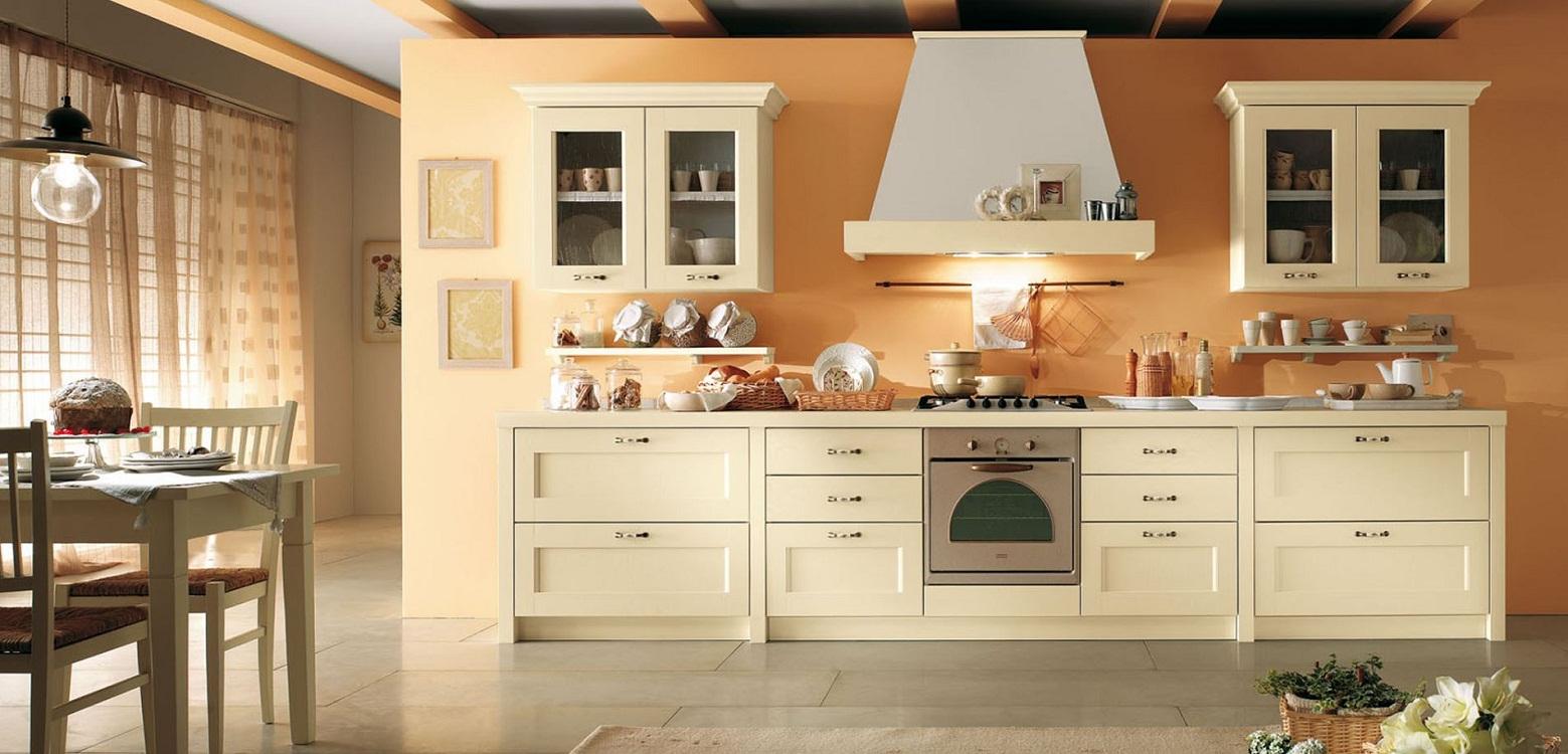 Цветовые сочетания с кухней цвета айвори