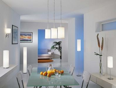 Как правильно расположить точечные светильники на кухне, нужно расстояние, фото в интерьере