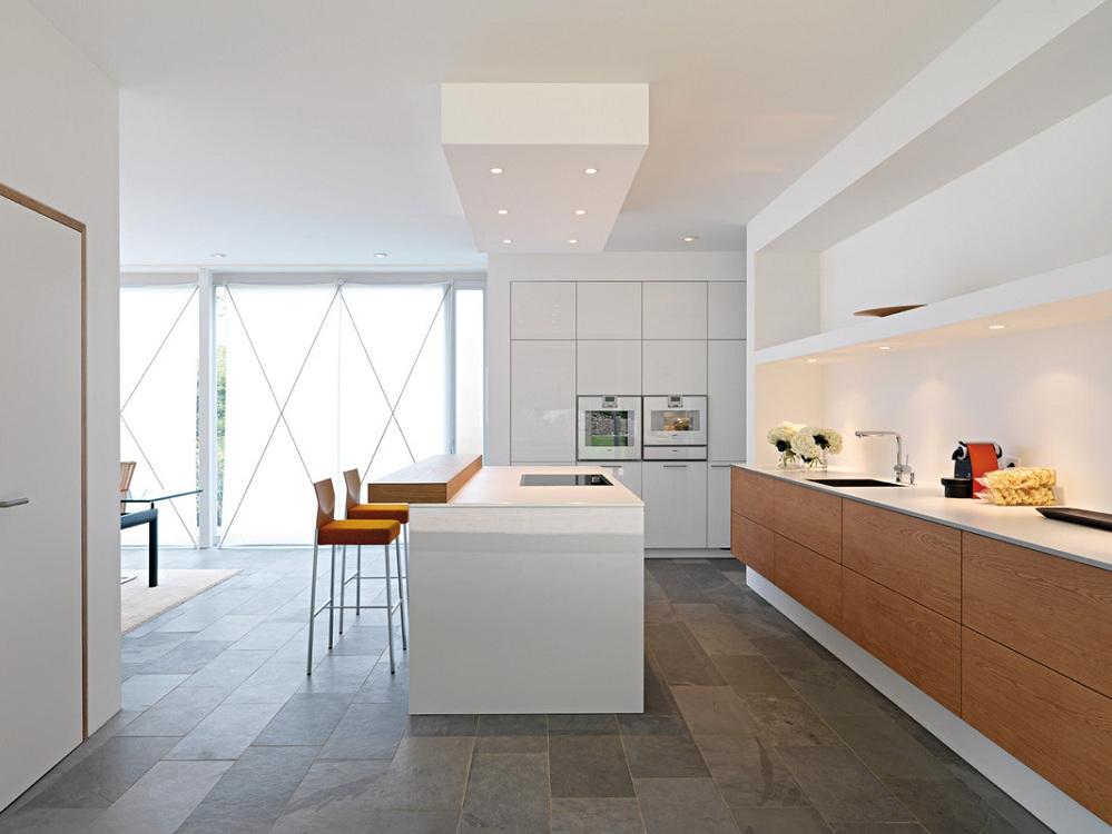 Выбор материалов для кухни в минималистичном стиле