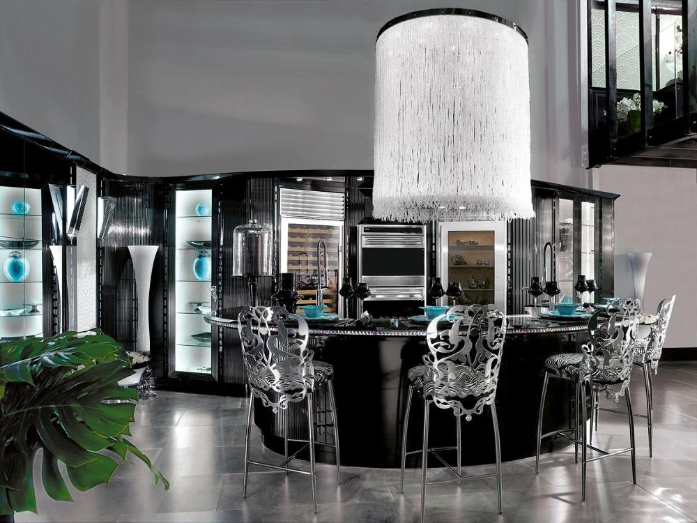 Аксессуары для кухни в стиле арт-деко