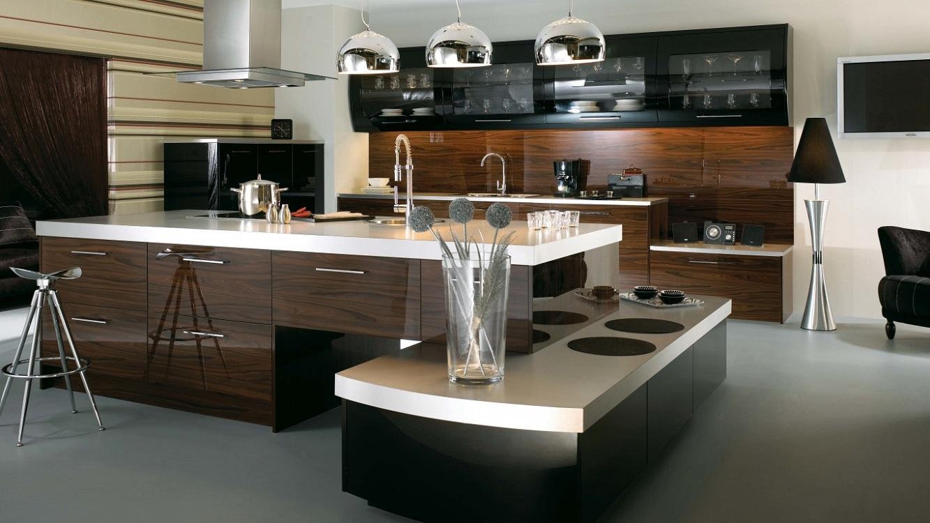 Декор для кухни в стиле хай-тек