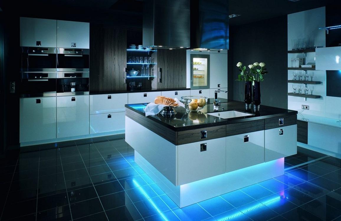 Дизайн острова для кухни