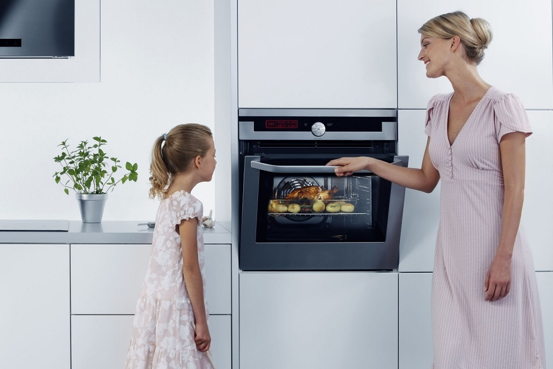 Дополнительные функции встраиваемой электрической духовки
