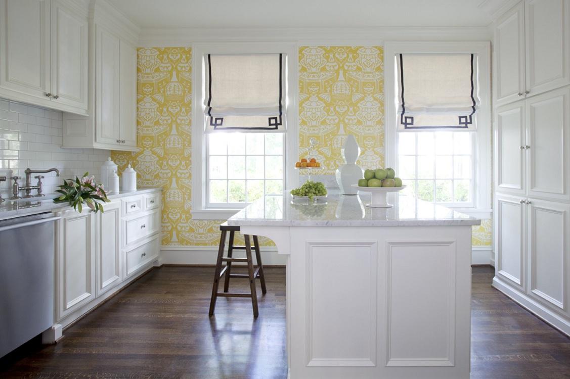 Флизелиновые моющиеся обои для кухни