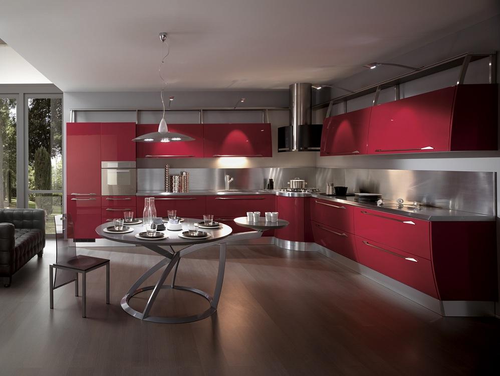 Гарнитур для кухни в стиле хай-тек