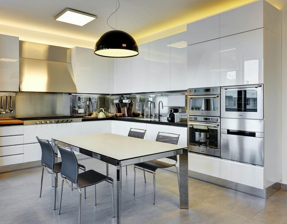 Идеальные цвета для кухни