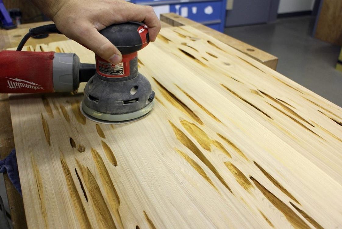 Изготовление столешницы из дерева для кухни