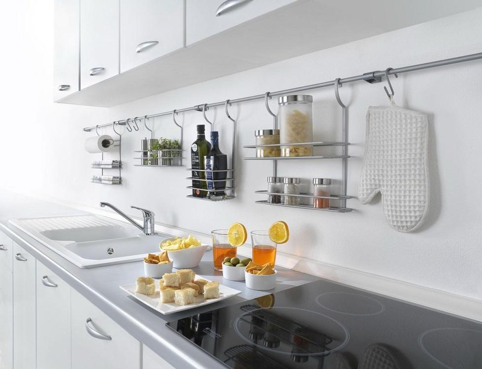 Комплектация рейлингов для кухни