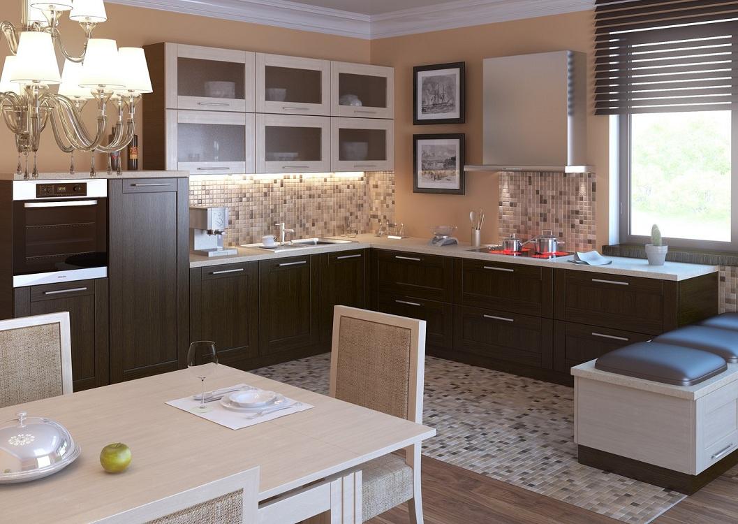 Корпусная мебель из МДФ для кухни