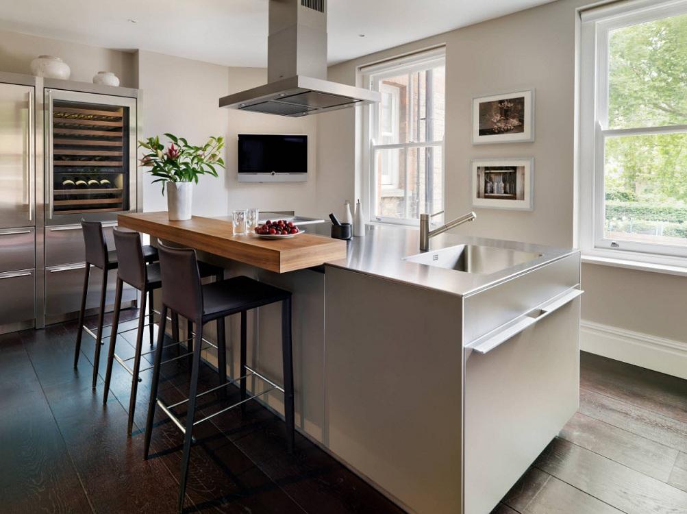 Дизайн кухонь с островом, кому подойдет такая планировка, грамотная реализация проекта