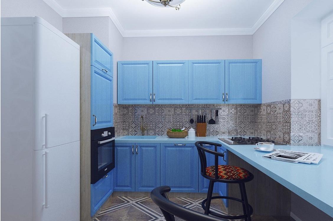 Кухонный гарнитур для брежневки
