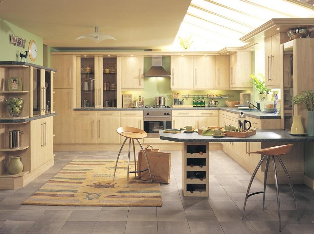 Кухонный гарнитур по фен-шуй