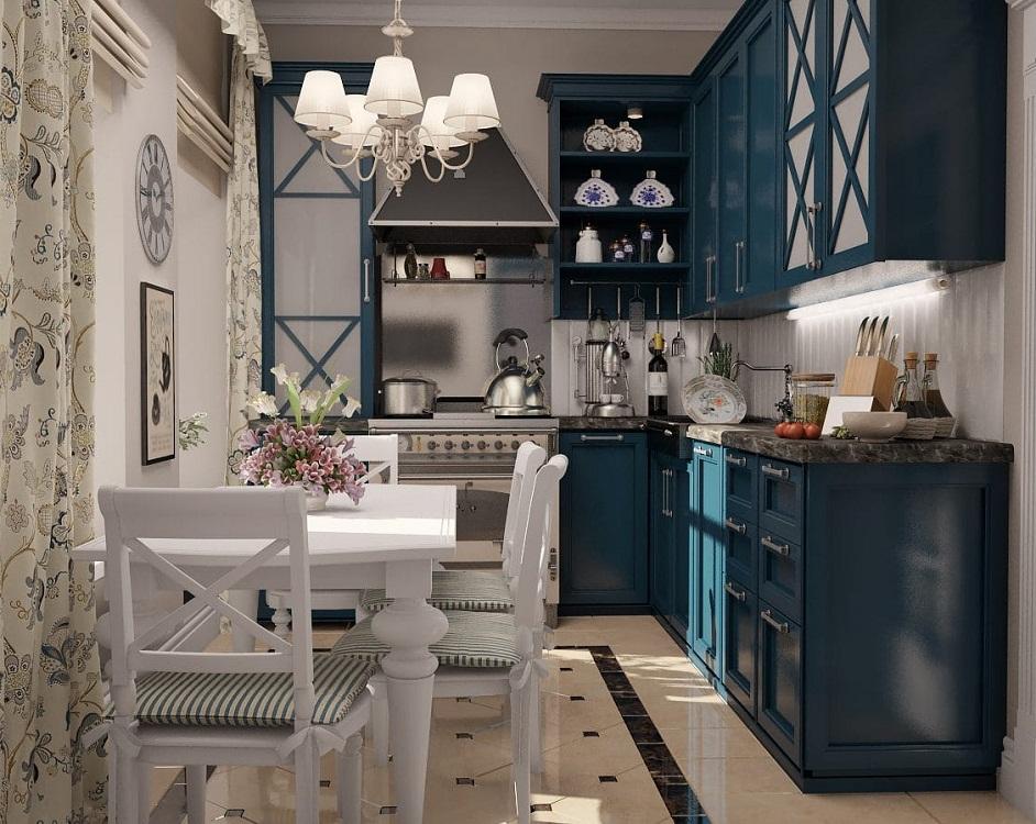Маленькая кухня в итальянском стиле