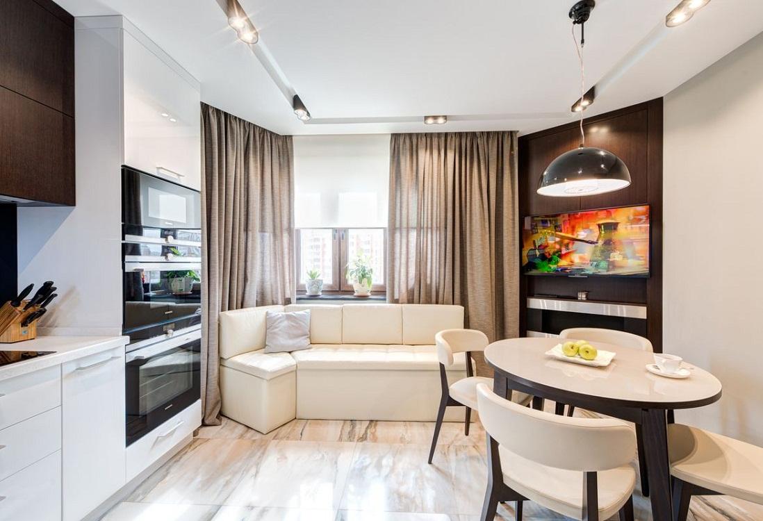Материалы для изготовления угловых диванов для кухни