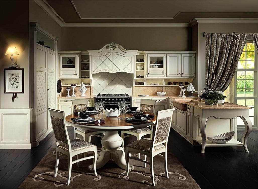 Мебель для кухни в итальянском стиле