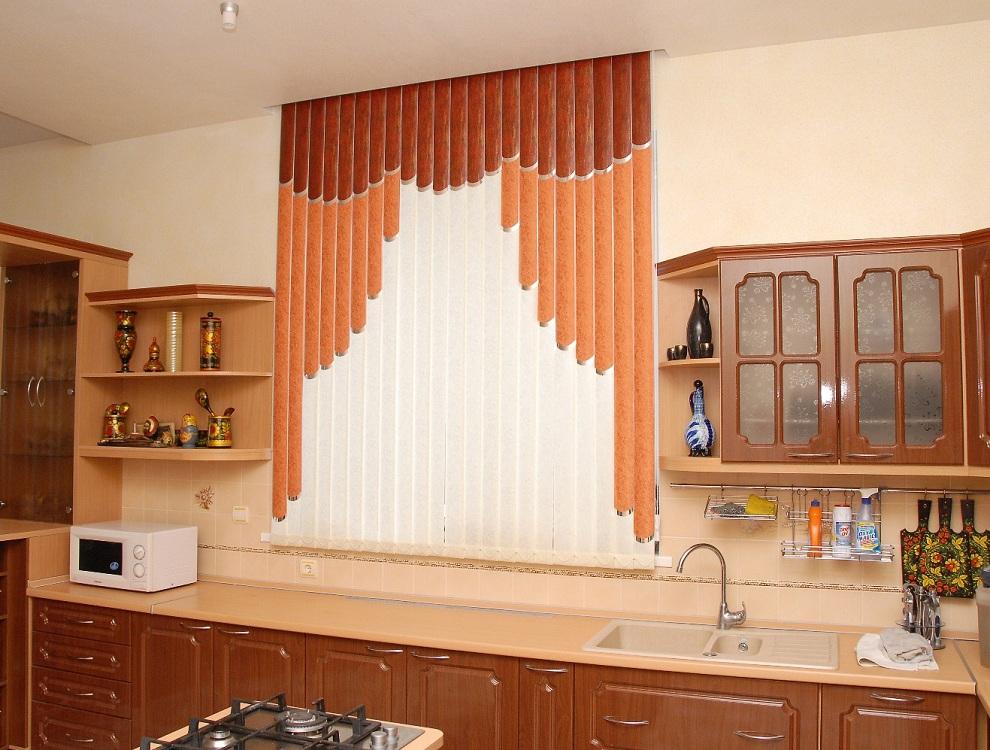 Мультифактурные жалюзи на кухню