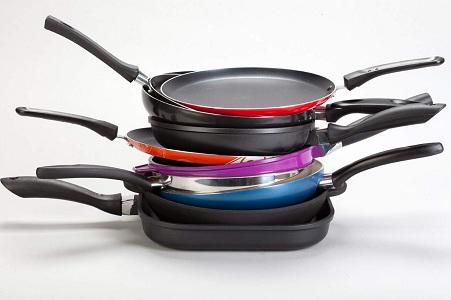 Очистить сковородку от нагара