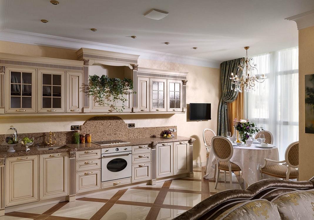 Оформление интерьера кухни в итальянском стиле