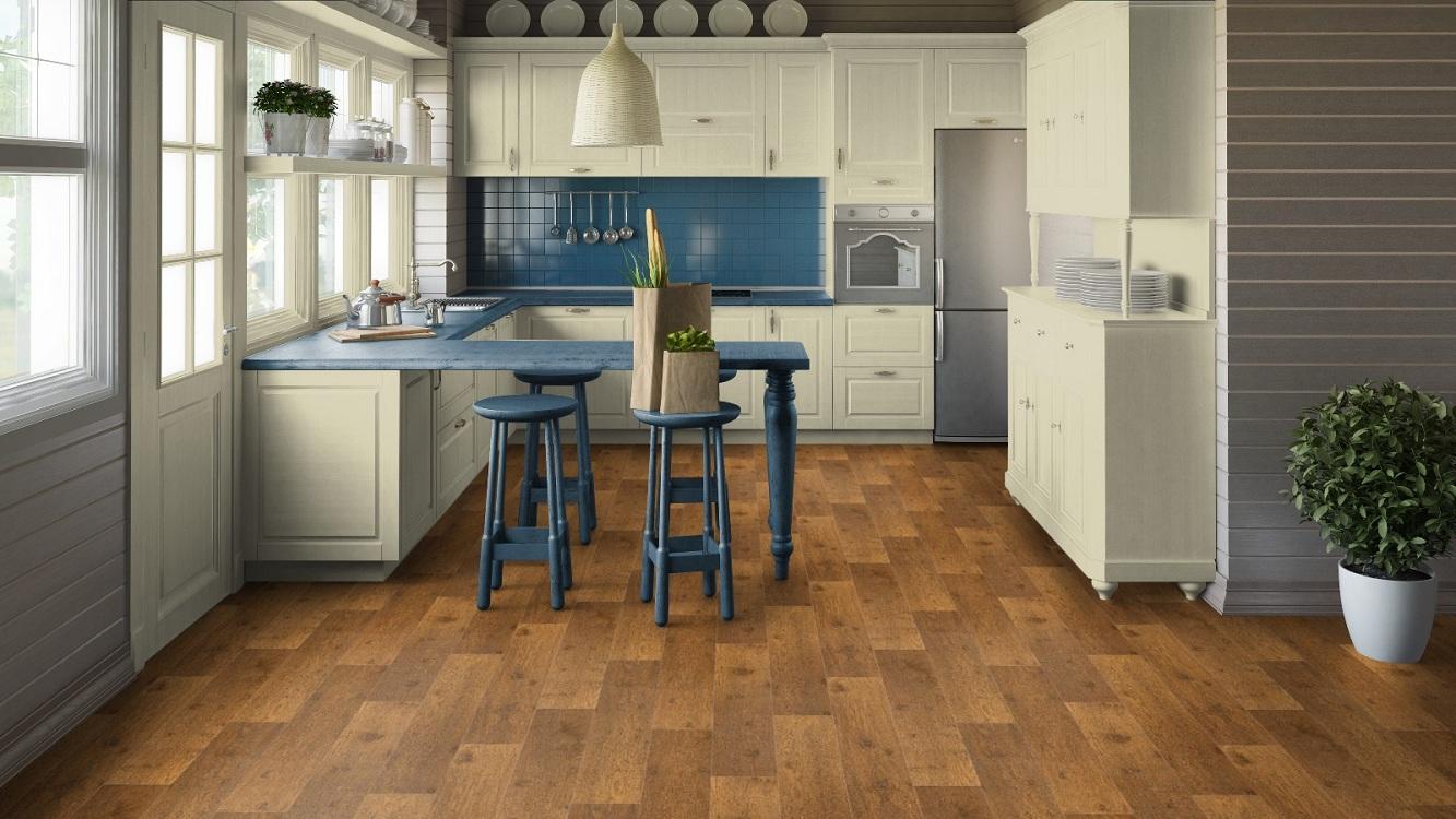 Отличия в использовании линолеума на кухне от других напольных покрытий