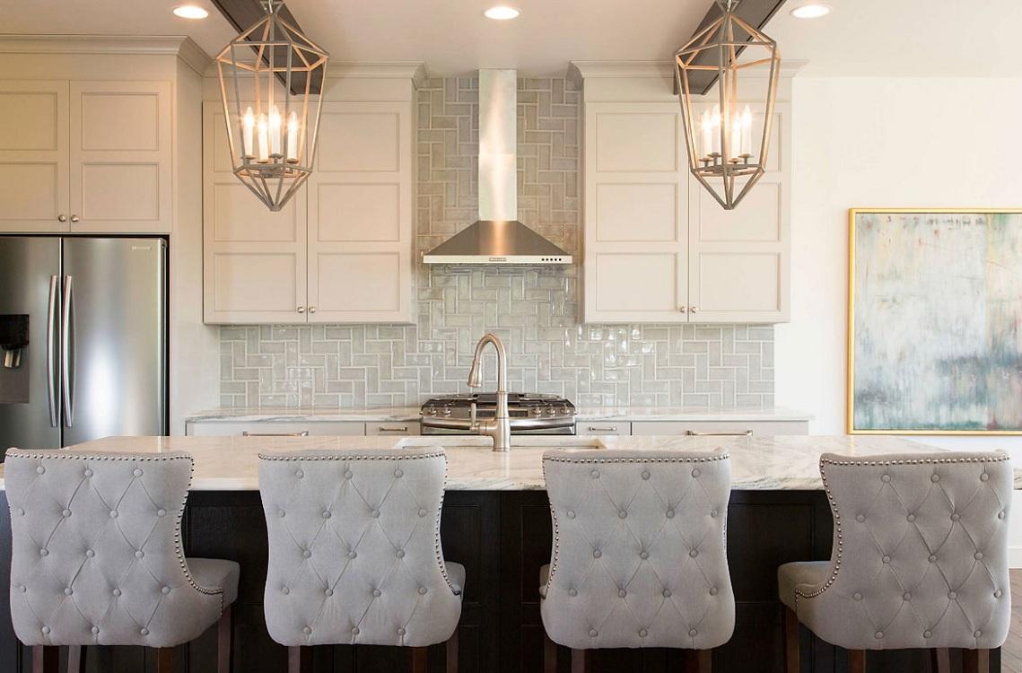 Плитка кабанчик для кухни в классическом стиле