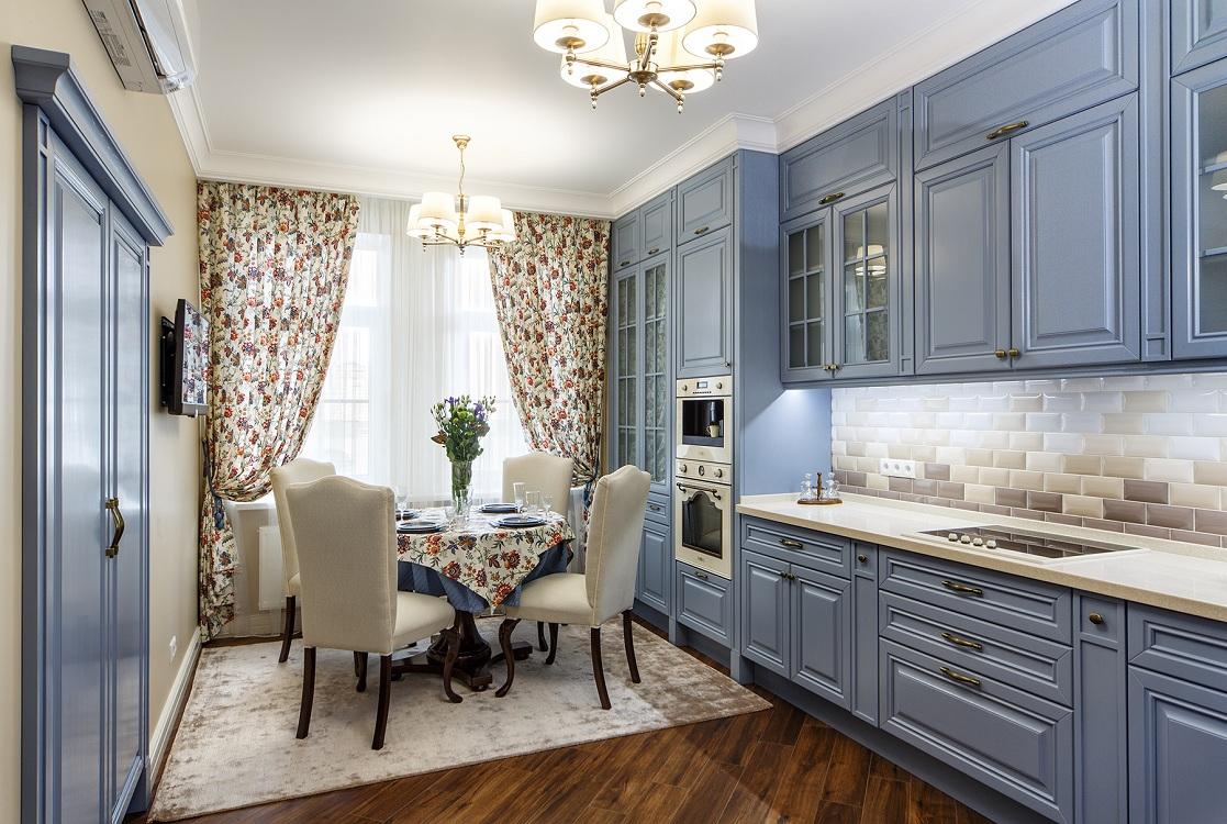 Подбор мебели для кухни в английском стиле