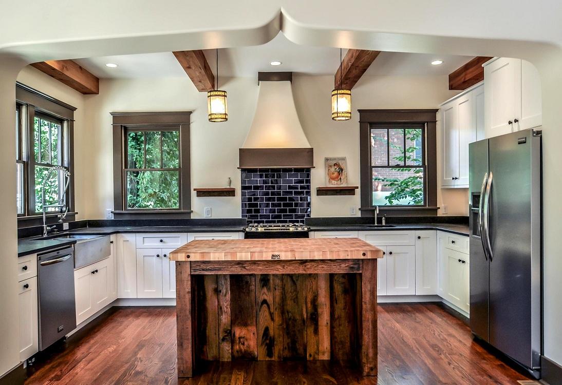 Правила организации пространства на кухне по фен-шуй