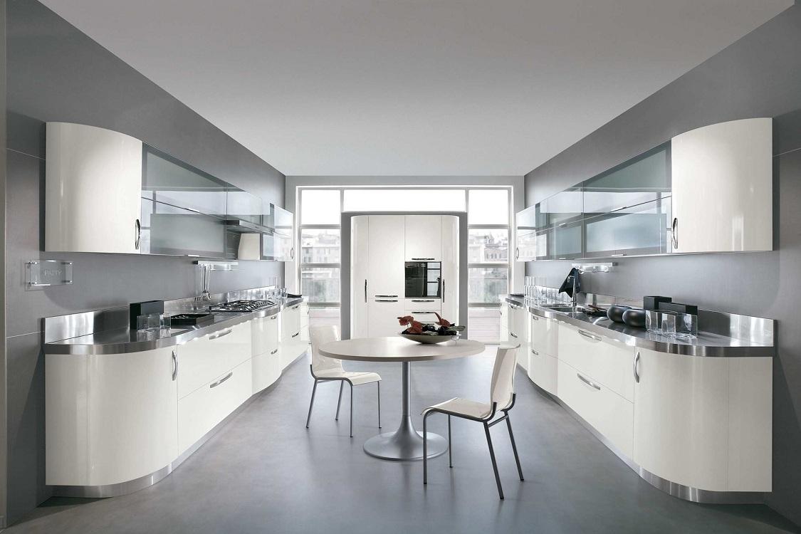 Преимущества параллельной кухни