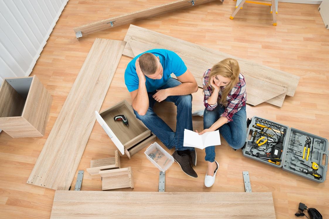 Принцип соединения корпусной мебели