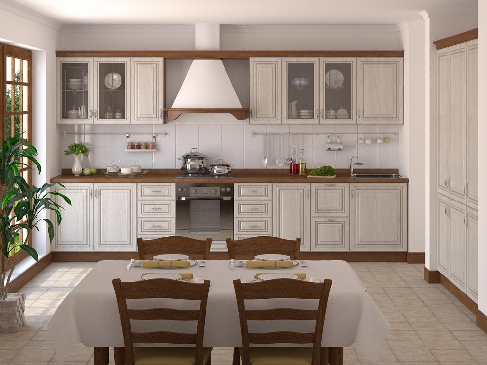 Рамочные фасады корпусной мебели для кухни