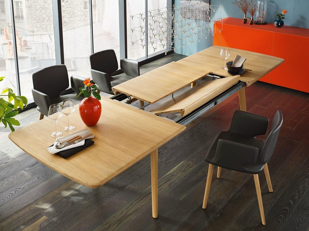 Раздвижной стол для маленькой кухни