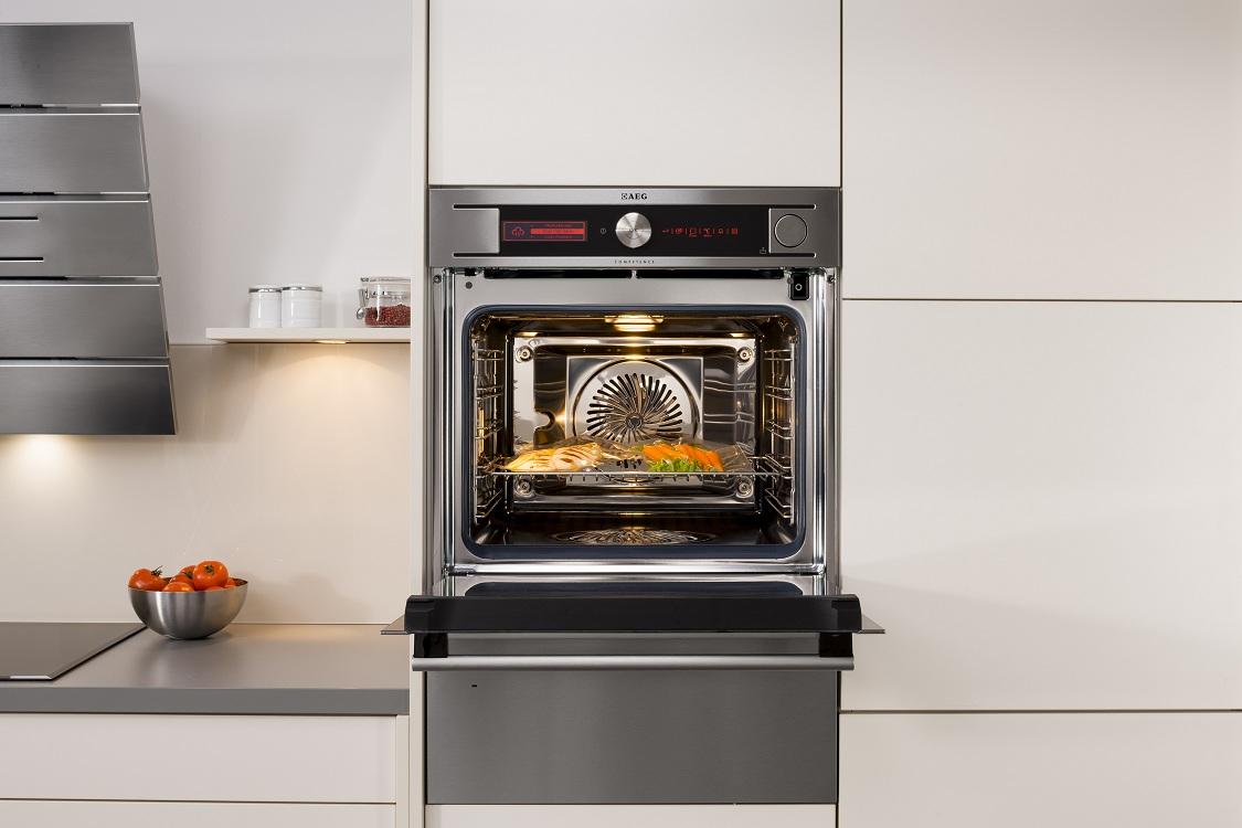 Режим нагрева электрической духовки