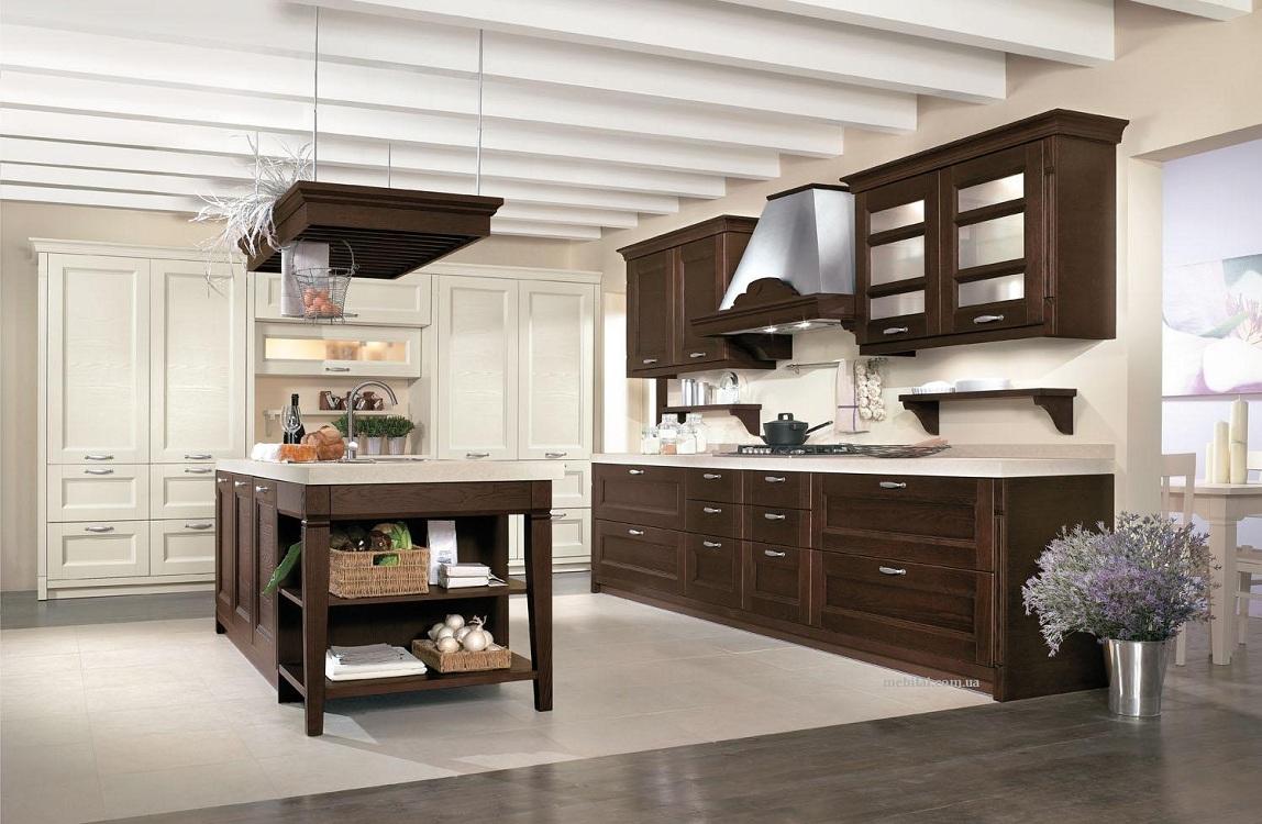 Секреты планирования кухни в стиле венге