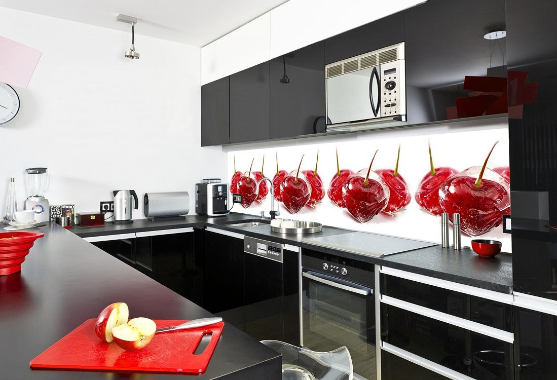 Скинали для черной кухни