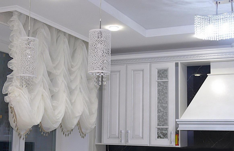 Ткани для французских штор на кухню