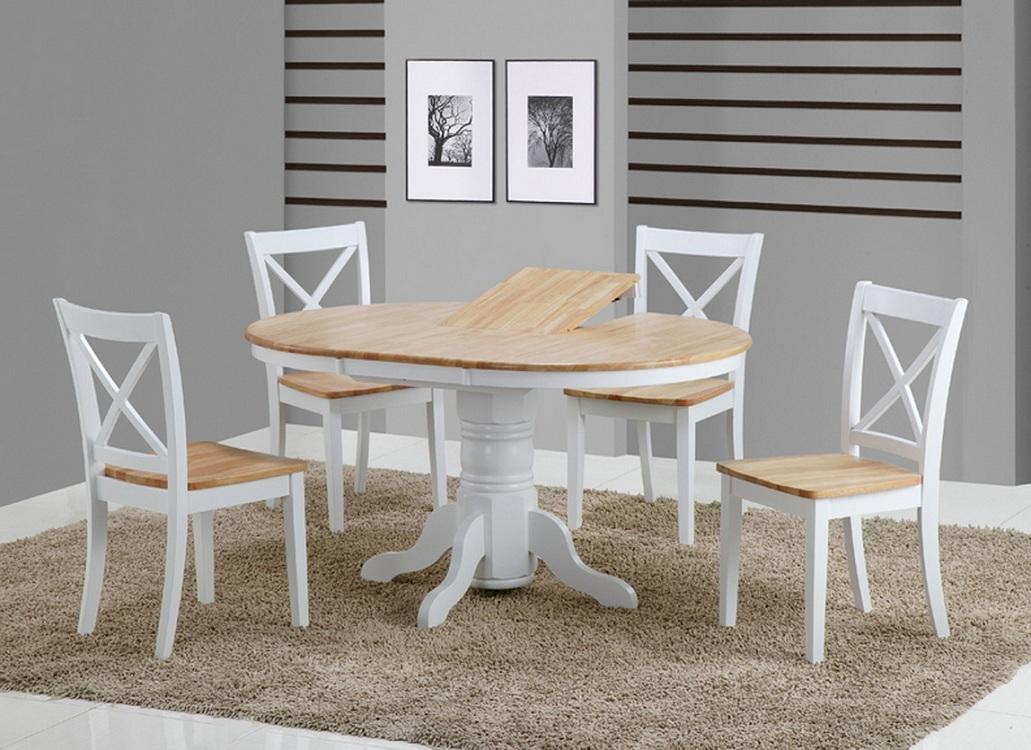 Варианты раздвижения круглого стола для кухни