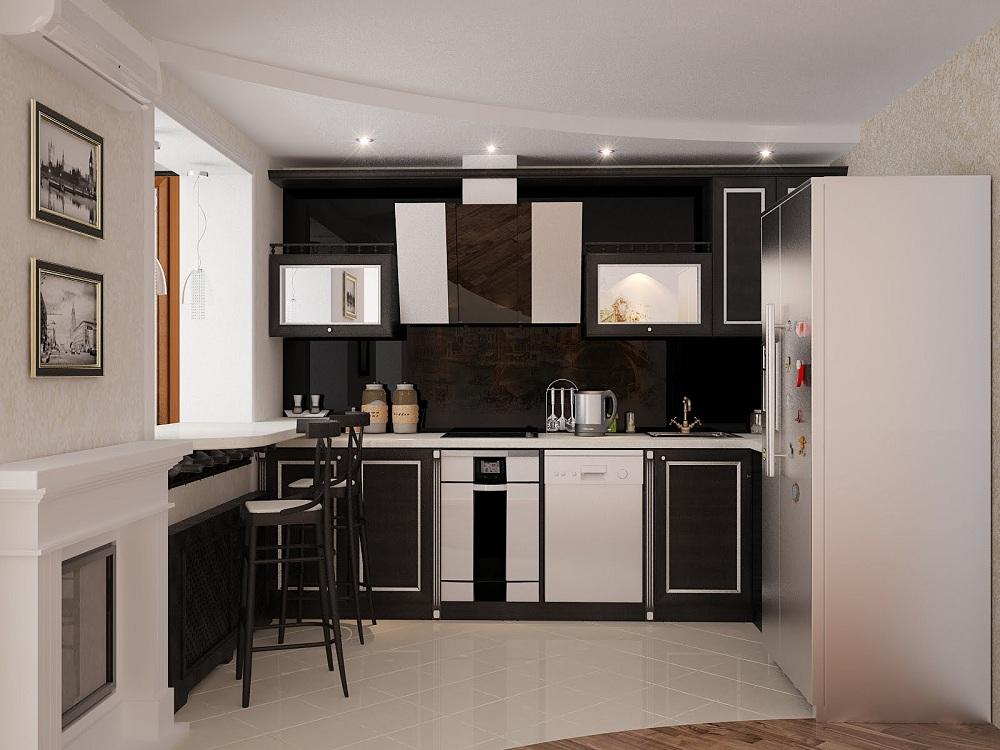 Выбор стиля для кухни в хрущевке