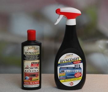 Химические средства для мытья духовки